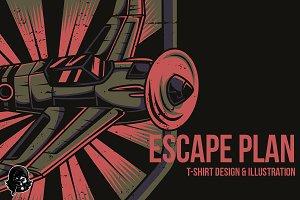 Escape Plan Illustration