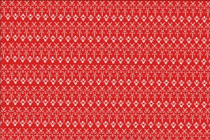 Christmas background in red and whit