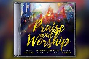 Praise and Worship CD Album Artwork