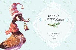 CANADA WINTER PARTY