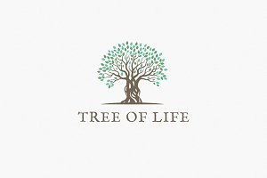 Tree Of Life Logo Template