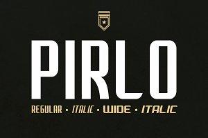 Pirlo (Regular & Wide)