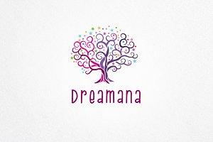 Dreamana Logo Template