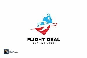 Flight Deal - Logo Template