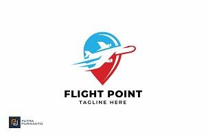 Flight Point - Logo Template