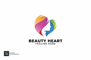 Beauty Heart - Logo Template