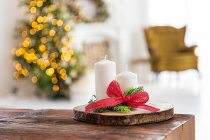 Christmas decoration at home