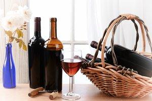 Vignette Wine Still Life