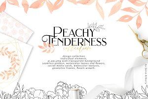 Peachy Tenderness SALE 99%