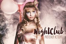 Nightclub Party Photoshop Actions