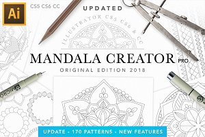 Mandala Creator Pro for Ai CS5+