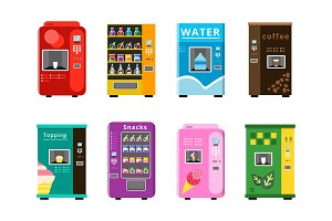 Vending machines. Automatic selling