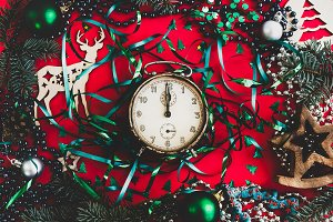 Bright, festive decorations