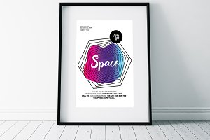 Space Futuristic Flyer Templates