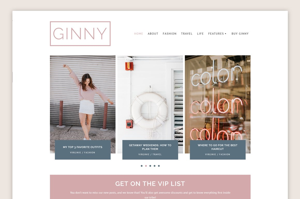 Ginny Theme • Genesis Framework