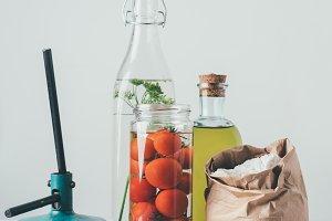 ingredients for preparing preserved