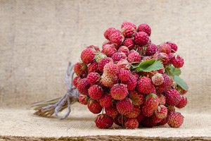 Bouquet of strawberry