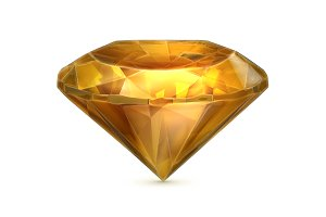 Yellow amber icon