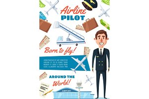 Airline pilot profession, captain