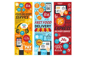 Fastfood express delivery service