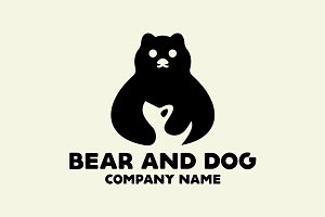 Bear and Dog Logo