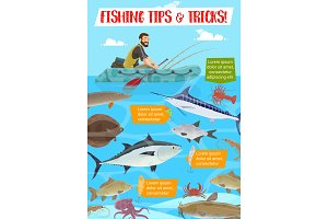 Fishing sport tips and tricks