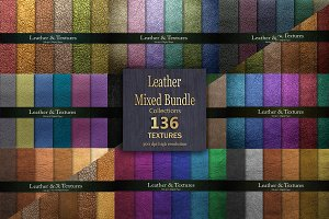 Leather Bundle 136 Textures