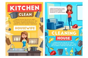 Cleaning and dishwashing service