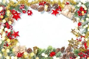 Christmas ornaments gifts stars