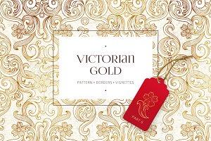 Vector Set Of Victorian Gold. Vol.6