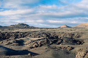 volcan of Timanfaya National Park