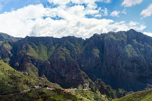 mountain range in Gran Canaria