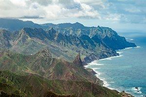 Beautiful volcanic island Tenerife