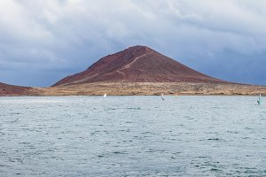 Panorama of mountain El Medano