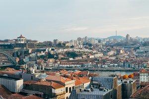 panorama of Porto cityscape