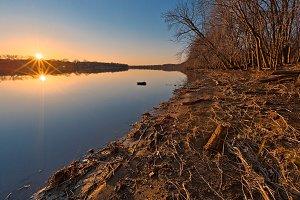 Potomac River Sunset