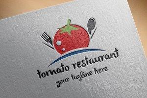 Tomato Restaurant Logo