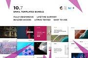 10 Email templates bundle VII