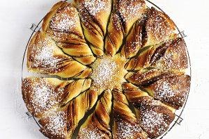 Freshly baked Cinnamon Sweet Brioche