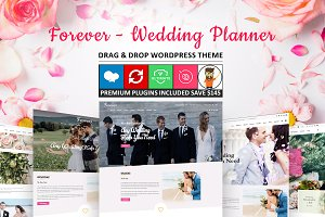 Forever - Wedding Planner WordPress