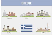Cities in Greece