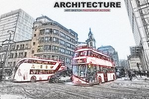 Architecture Art Sketch Photoshop Ac