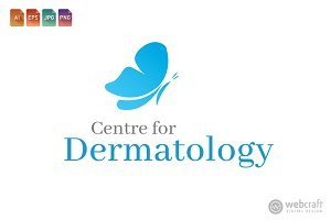 Beauty Dermatology Logo Template 11