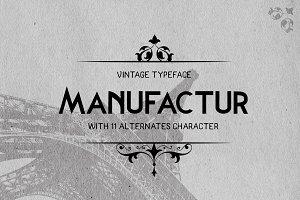 Manufactur Typeface