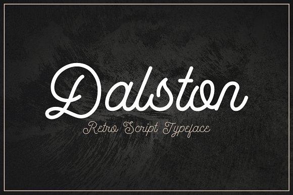 Dalston - Retro Script Font
