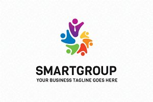 Smart Group Logo Template