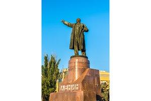 Monument of Vladimir Lenin on Lenin
