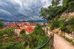 City view to Graz