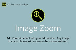 Image Zoom Adobe Muse Widget