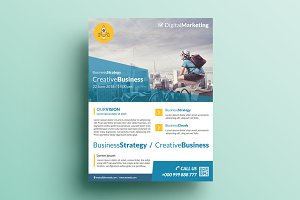 Creative Corporate Flyer V7